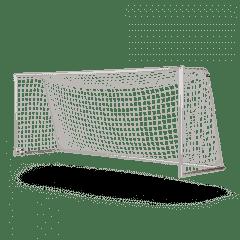 Verplaatsbaar voetbaldoel 5x2 netstrip 80x90mm profiel