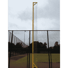 Eindpaal - 13,5mtr - Geel