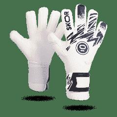 Keepershandschoenen Saint White Negative