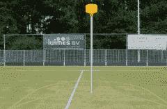 Korfbalpaal - geschikt voor grondpot