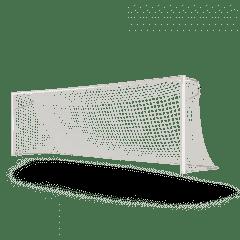 Vast voetbaldoel 7,32x2,44 P-model netstrip kruising gelast