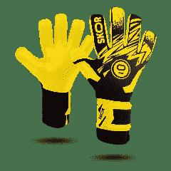 Keepershandschoenen Saint Yellow Negative