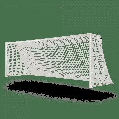 Vast voetbaldoel 7,32x2,44 P-model netstrip kruising gekoppeld