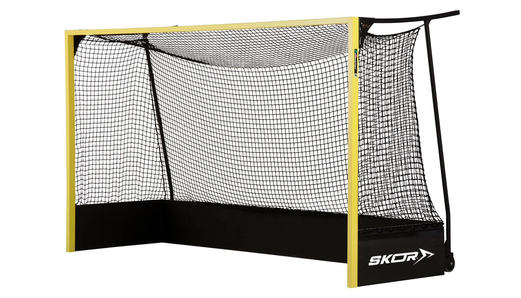 Wat zijn de afmetingen van een hockeydoel?